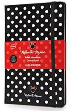 Moleskine Minnie Mouse Limited Edition Ruled Large Notebook