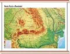 Harta Fizica A Romaniei