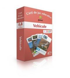Carti de joc educative - Vehicule