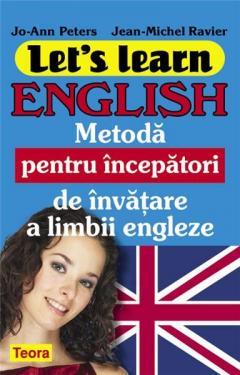Let's Learn English - metoda pentru incepatori de invatare a limbii engleze