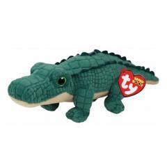 Jucarie de plus - Beanie Boos - Spike The Alligator, 15 cm